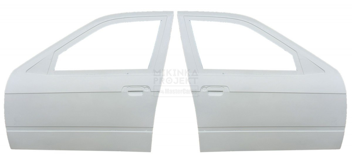 FRONT DOORS BMW E36 SEDAN (FIBERGLASS CLOTH)