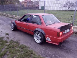 TRUNK LID BMW E30 COUPE (FIBERGLASS CLOTH)