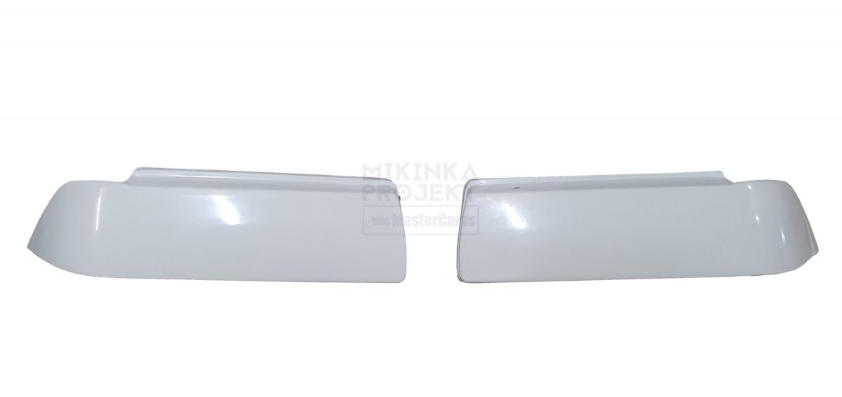 HEADLIGHTS COVERS WITHOUT HOLDERS BMW E36 COUPE (FIBERGLASS CLOTH)