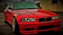 FRONT BUMPER LIP BMW E36 PANDEM SMALL (FIBERGLASS CLOTH)
