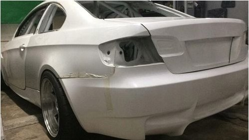 DOORS WITHOUT FRAMES BMW E92 COUPE (FIBERGLASS CLOTH)