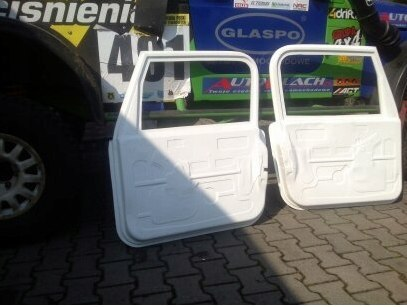 DOORS (L+R) JEEP WRANGLER (FIBERGLASS CLOTH)