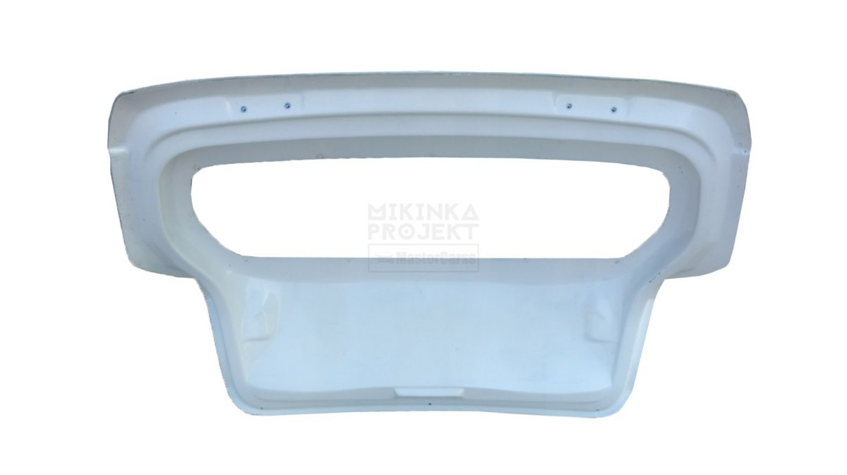 TRUNK LID WITH POLYCARBONATE GLASS BMW E81/E87 HATCHBACK (FIBERGLASS CLOTH)