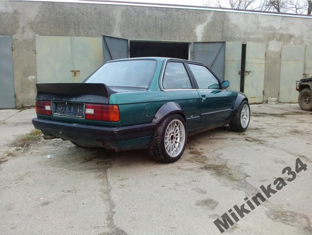 OVER-FENDERS (4 PCS) BMW E30 COUPE (FIBERGLASS CLOTH)