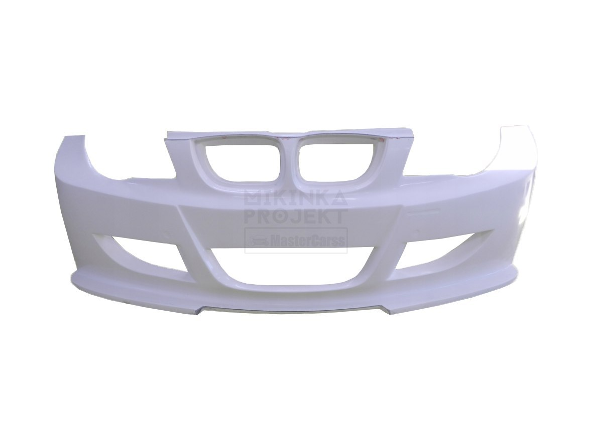 FRONT BUMPER BMW E87 HATCHBACK WIDEBODY (FIBERGLASS CLOTH)