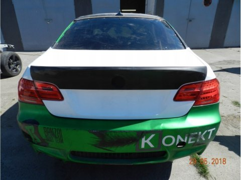 REAR BUMPER BMW M3 E92 COUPE (FIBERGLASS CLOTH)