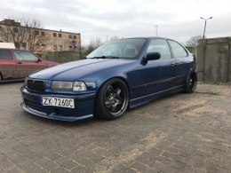 FELONY OVER-FENDERS BMW E36 COMPACT (FIBERGLASS CLOTH)