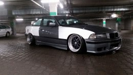 FELONY OVER-FENDERS BMW E36 COUPE (FIBERGLASS CLOTH)