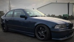 FELONY FRONT OVER-FENDERS BMW E36 COMPACT (FIBERGLASS CLOTH)