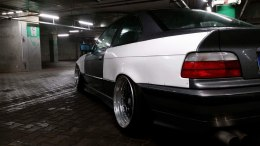 FELONY REAR OVER-FENDERS BMW E36 COUPE (FIBERGLASS CLOTH)